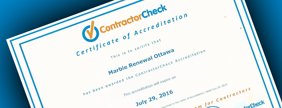 Contractor Check Certificate Blogpic